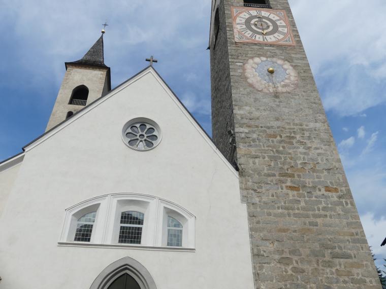 St. Lorenzen, Pfarrkirche St. Laurentius, Bild 1/2