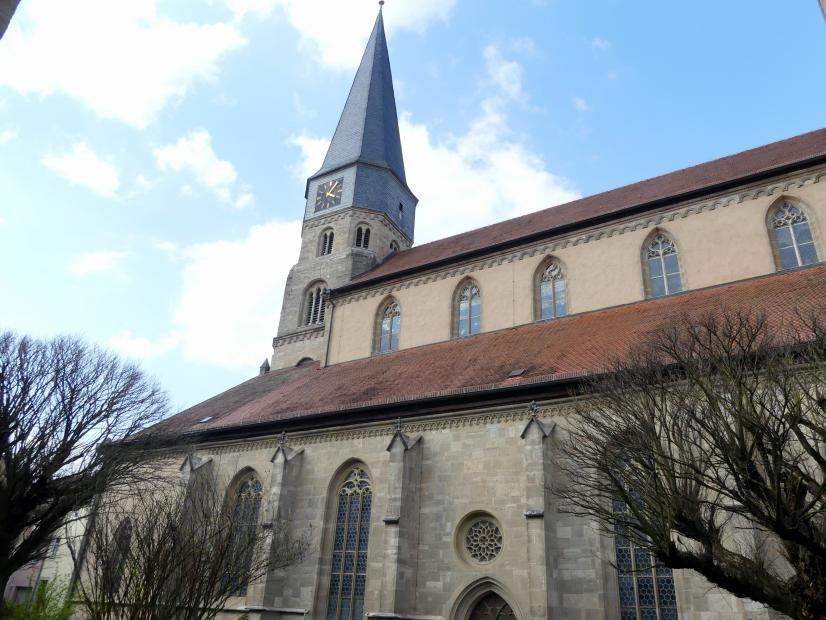 Münnerstadt, Pfarrkirche St. Maria Magdalena, Bild 2/7