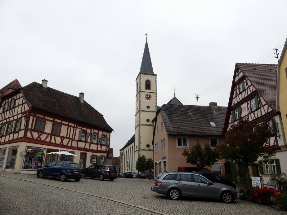 Aub, Stadtpfarrkirche Mariä Himmelfahrt