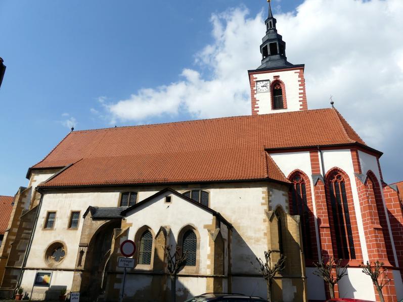 Römhild, Stiftskirche Jungfrau Maria und Johannes der Täufer, Bild 1/7