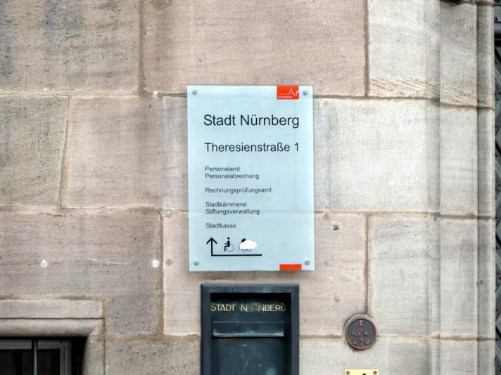 Nürnberg, ehem. Dominikanerkloster St. Marien