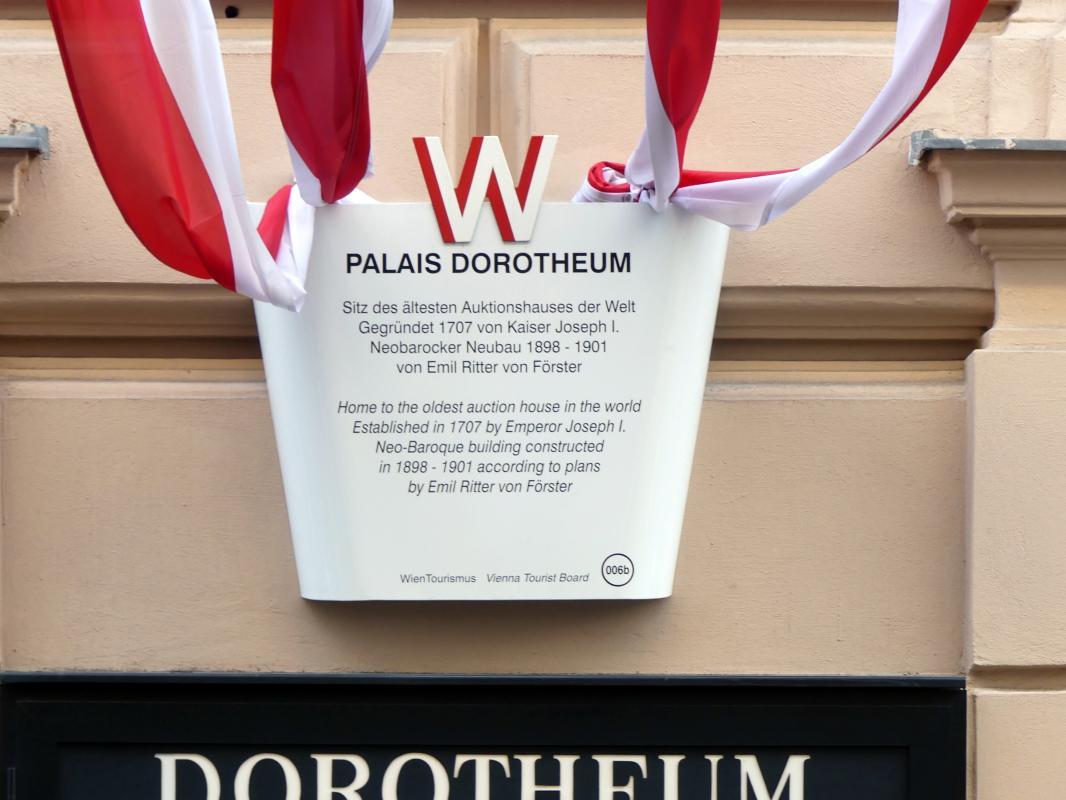 Wien, ehem. Augustiner-Chorherrenstift St. Dorothea, heute Palais Dorotheum