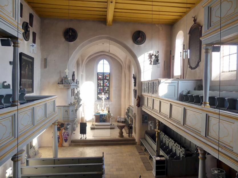 Großgründlach, ev. Pfarrkirche St. Laurentius, Bild 2/2
