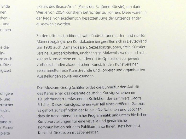 Schweinfurt, Museum Georg Schäfer