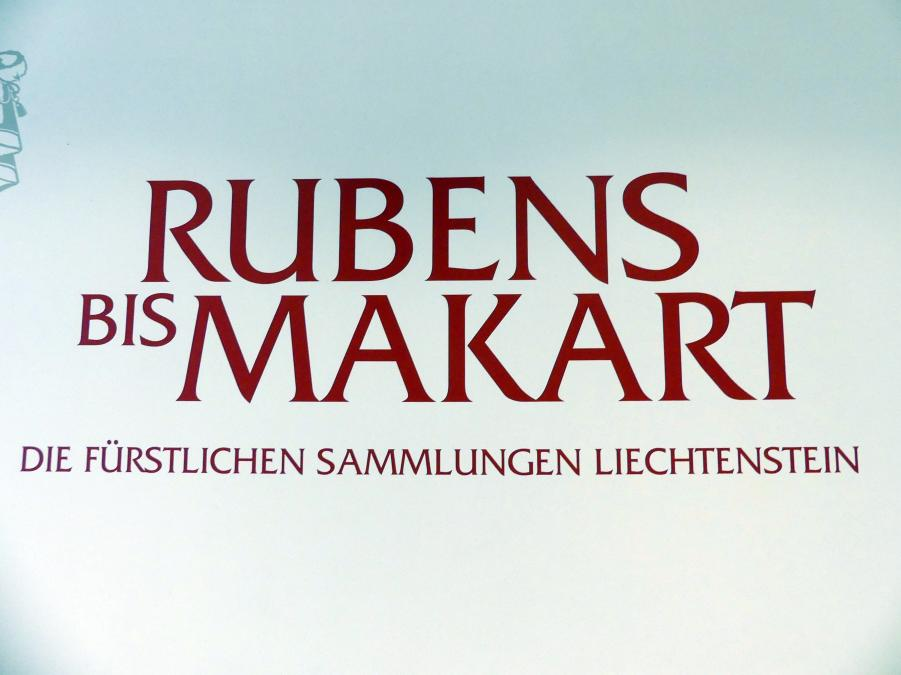 """Wien, Albertina, Ausstellung """"Die fürstliche Sammlung Liechtenstein"""" vom 16.2.-10.6.2019, Bild 1/4"""