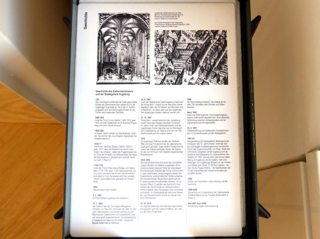 Augsburg, Staatsgalerie in der ehem. Katharinenkirche, Bild 2/2