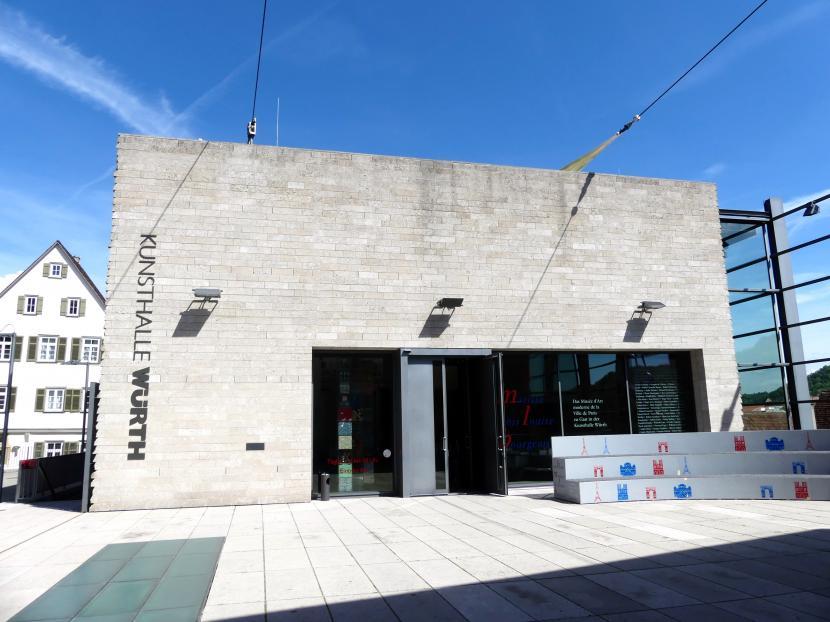 """Schwäbisch Hall, Kunsthalle Würth, Ausstellung """"Das Musée d'Art moderne de la Ville de Paris zu Gast in der Kunsthalle Würth"""" vom 15.4.-15.9.2019, Bild 1/5"""