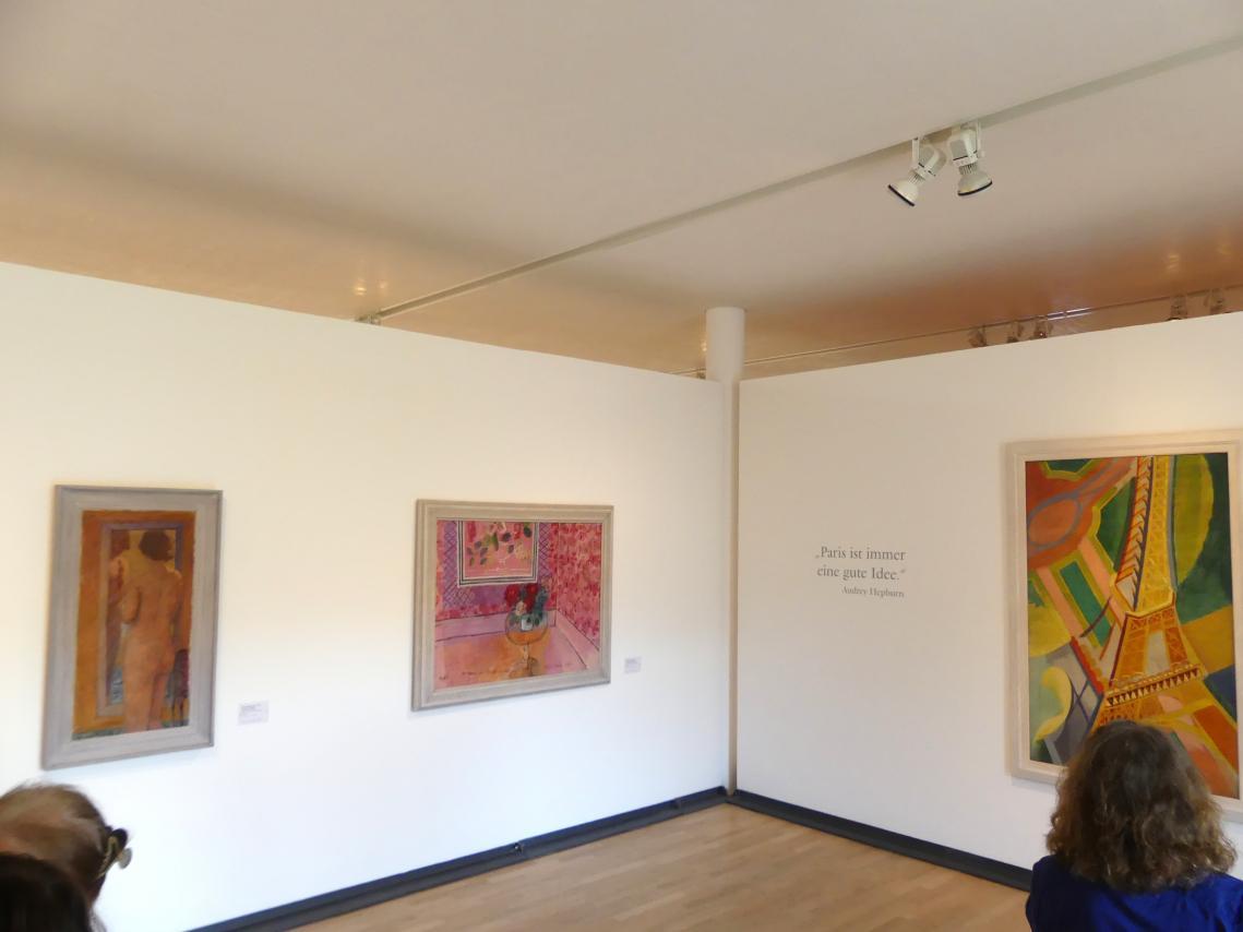 """Schwäbisch Hall, Kunsthalle Würth, Ausstellung """"Das Musée d'Art moderne de la Ville de Paris zu Gast in der Kunsthalle Würth"""" vom 15.4.-15.9.2019, Bild 3/5"""
