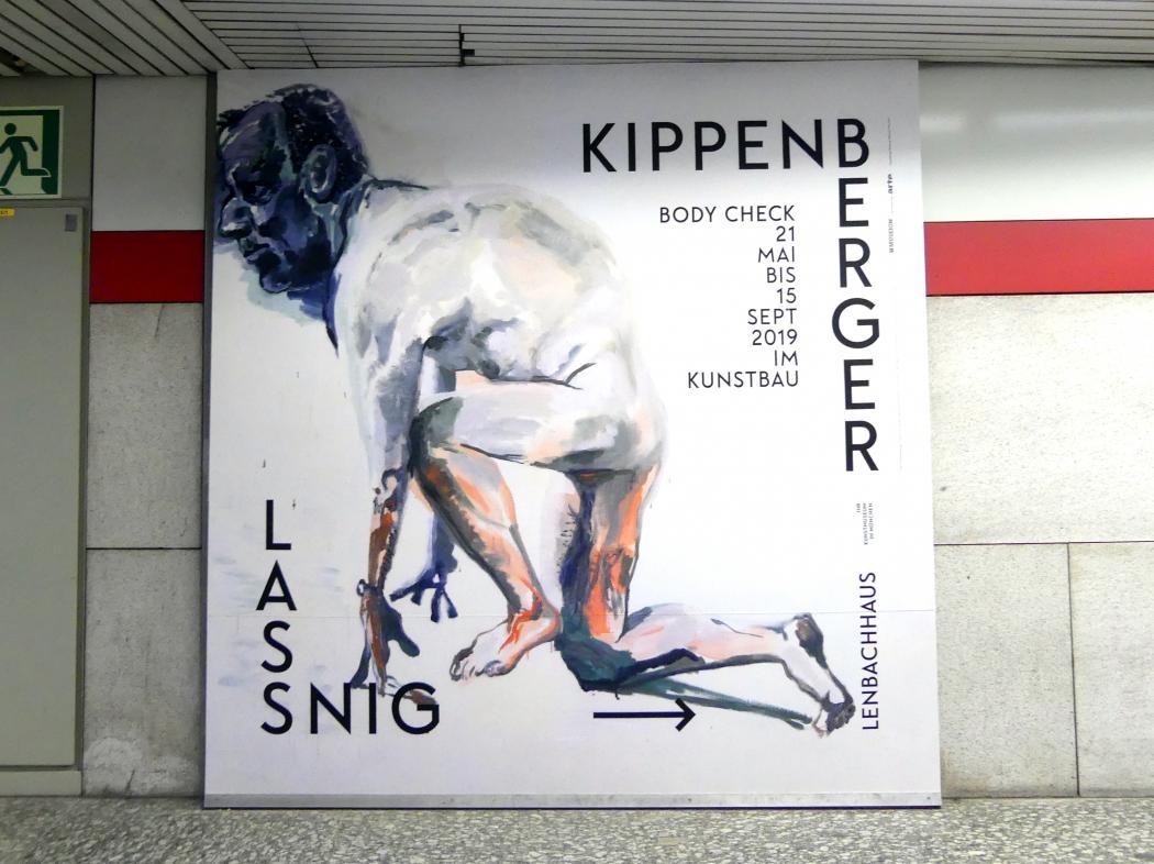 """München, Lenbachhaus, Kunstbau, Ausstellung """"BODY CHECK"""" vom 21.5.-15.9.2019, Bild 2/19"""