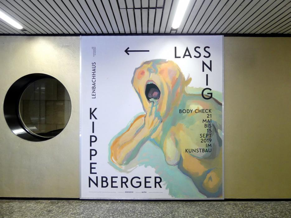 """München, Lenbachhaus, Kunstbau, Ausstellung """"BODY CHECK"""" vom 21.5.-15.9.2019, Bild 4/19"""