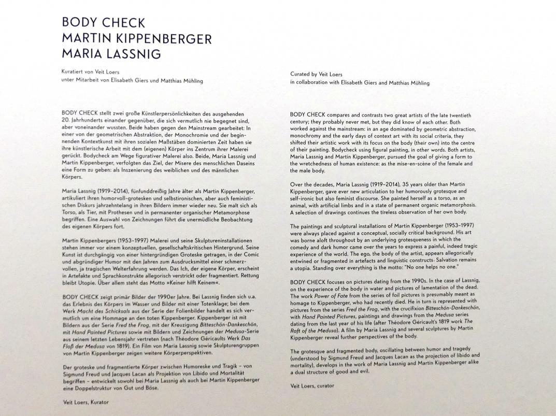 """München, Lenbachhaus, Kunstbau, Ausstellung """"BODY CHECK"""" vom 21.5.-15.9.2019, Bild 7/19"""