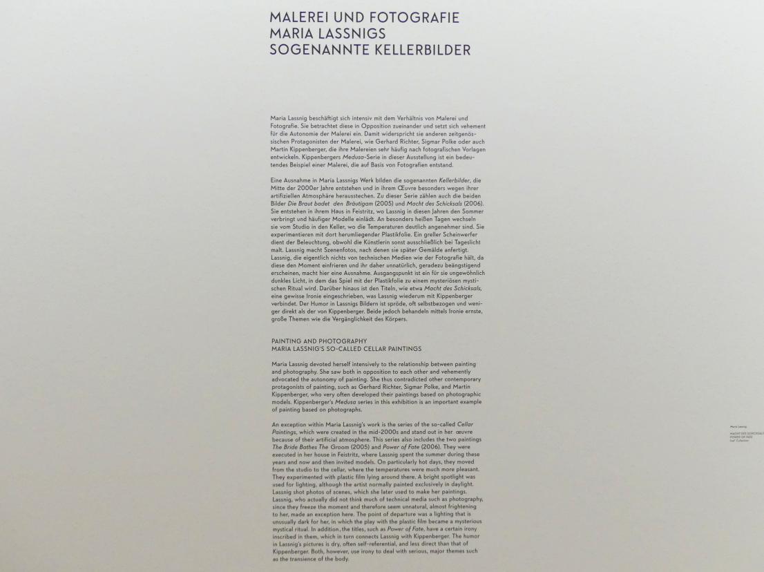 """München, Lenbachhaus, Kunstbau, Ausstellung """"BODY CHECK"""" vom 21.5.-15.9.2019, Bild 14/19"""
