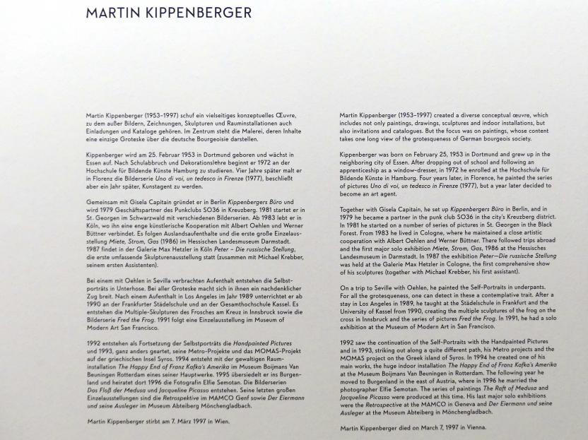 """München, Lenbachhaus, Kunstbau, Ausstellung """"BODY CHECK"""" vom 21.5.-15.9.2019, Bild 16/19"""