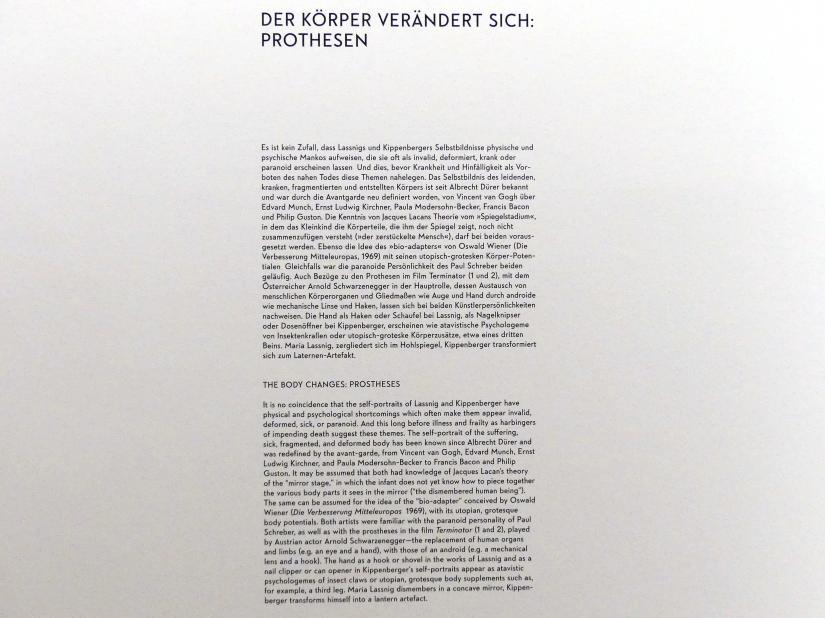 """München, Lenbachhaus, Kunstbau, Ausstellung """"BODY CHECK"""" vom 21.5.-15.9.2019, Bild 18/19"""