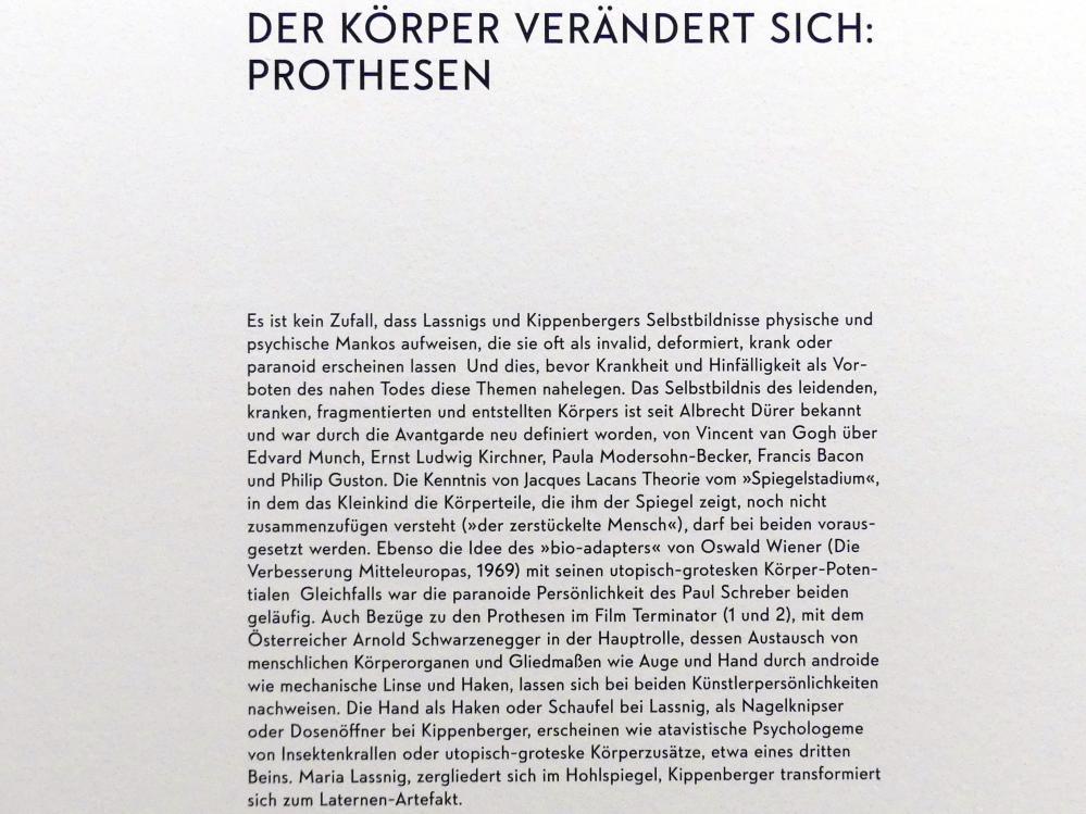 """München, Lenbachhaus, Kunstbau, Ausstellung """"BODY CHECK"""" vom 21.5.-15.9.2019, Bild 19/19"""