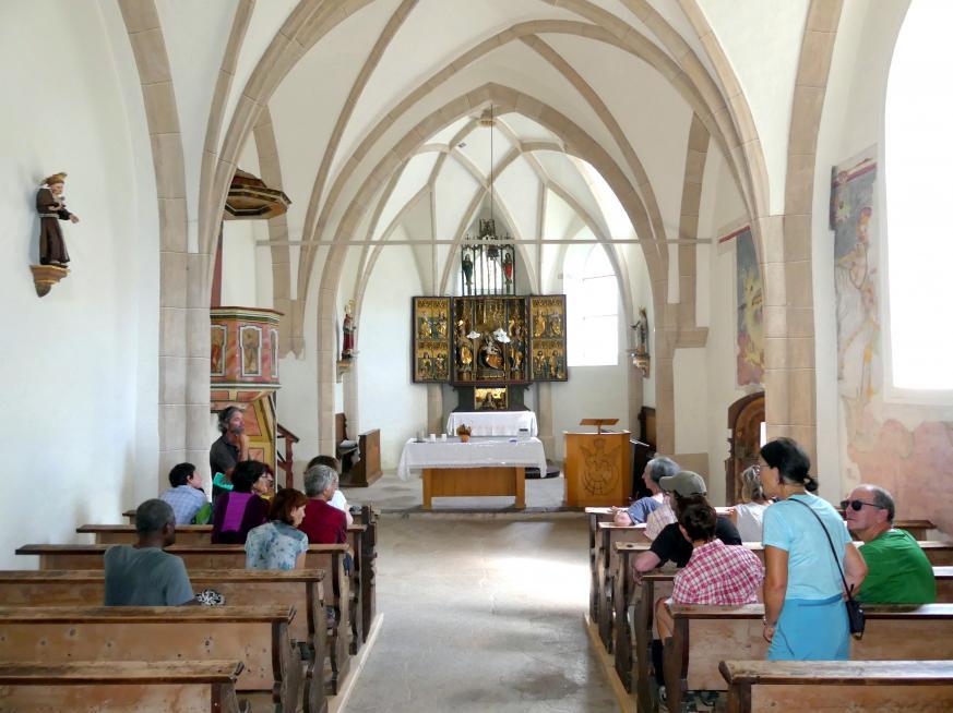 Villnöß, Kirche St. Valentin, Bild 7/12