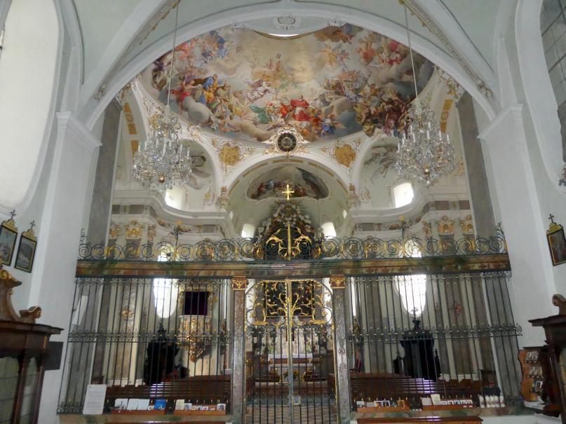 Volders, Klosterkirche zum Hl. Karl Borromäus, Bild 3/4