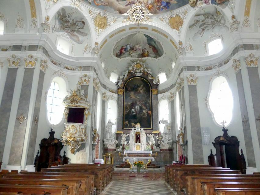 Volders, Klosterkirche zum Hl. Karl Borromäus, Bild 4/4