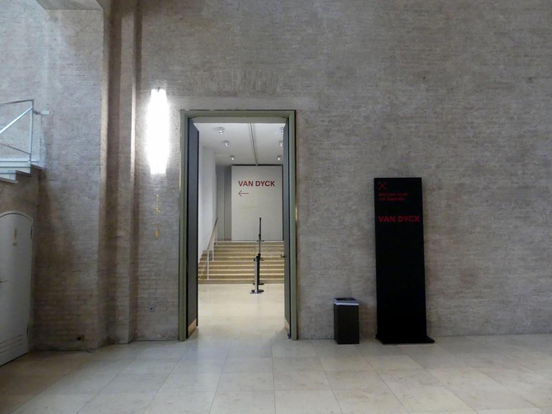 """München, Alte Pinakothek, Ausstellung """"Van Dyck"""" vom 25.10.2019-2.2.2020"""