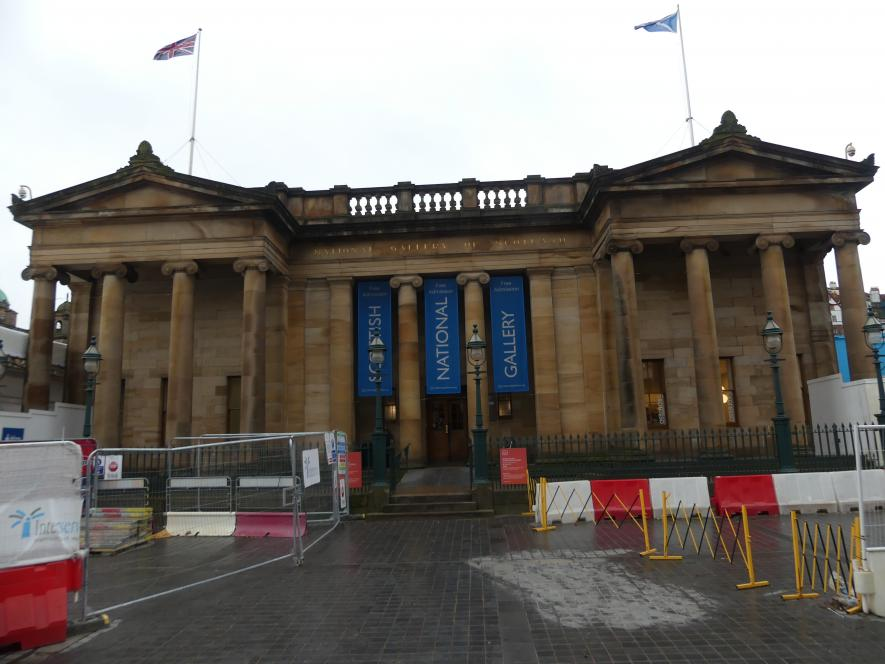 Edinburgh, Scottish National Gallery, Bild 2/2
