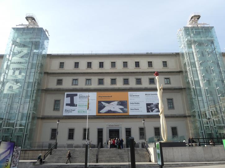 Madrid, Museo Reina Sofía, Bild 1/7
