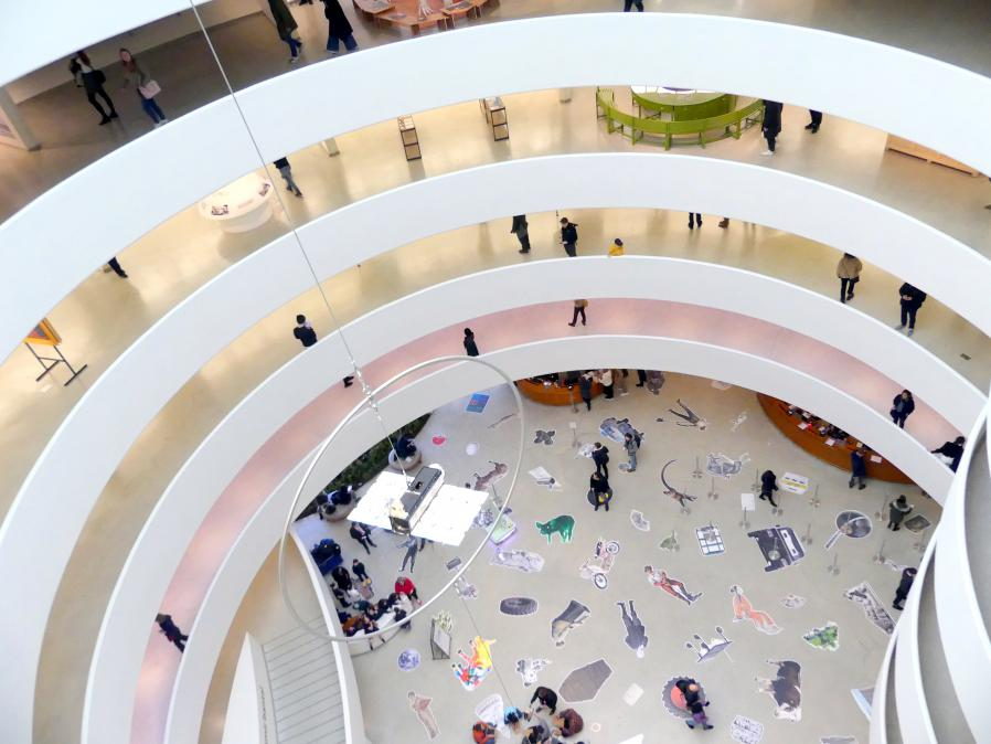 New York, Solomon R. Guggenheim Museum, Bild 68/72