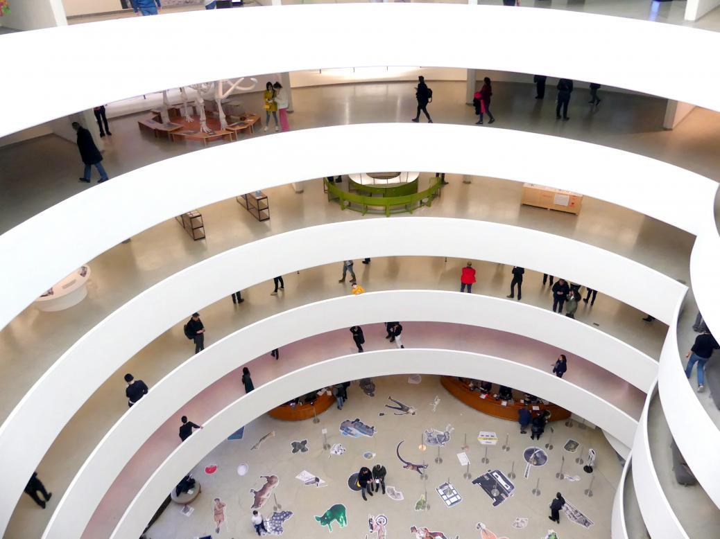 New York, Solomon R. Guggenheim Museum, Bild 71/72
