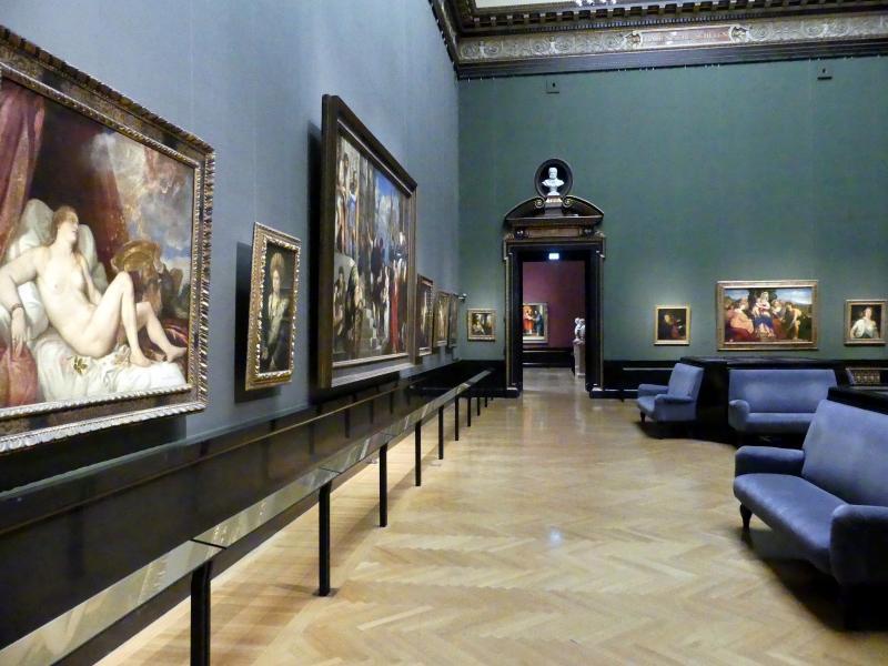 Wien, Kunsthistorisches Museum, Saal IV, Bild 1/4