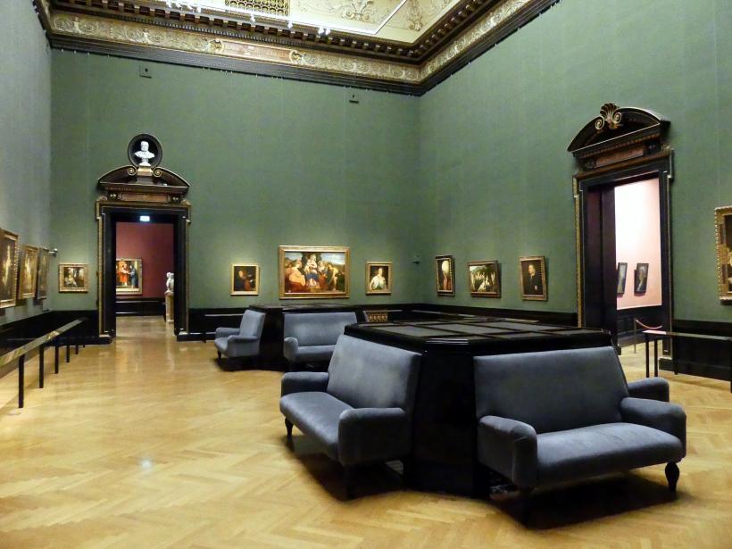 Wien, Kunsthistorisches Museum, Saal IV, Bild 2/4