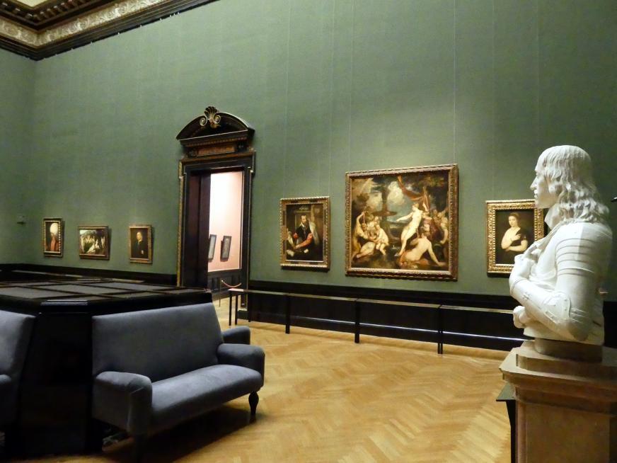 Wien, Kunsthistorisches Museum, Saal IV, Bild 3/4