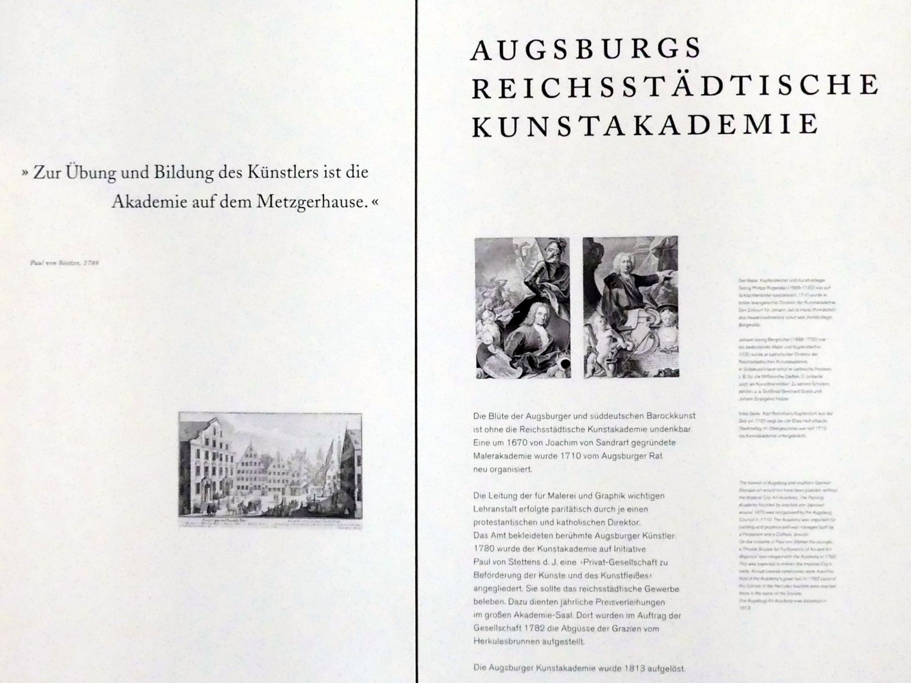Augsburg, Maximilian Museum, Kunstakademie Augsburg, Bild 1/2