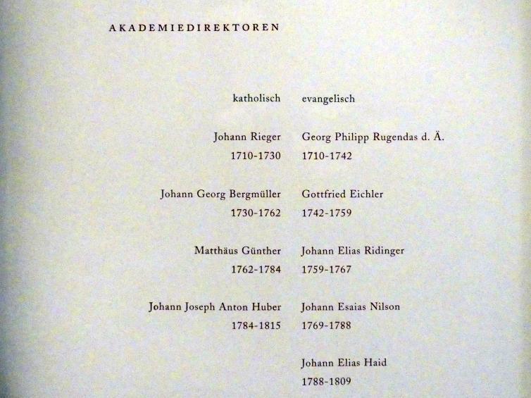 Augsburg, Maximilian Museum, Kunstakademie Augsburg, Bild 2/2