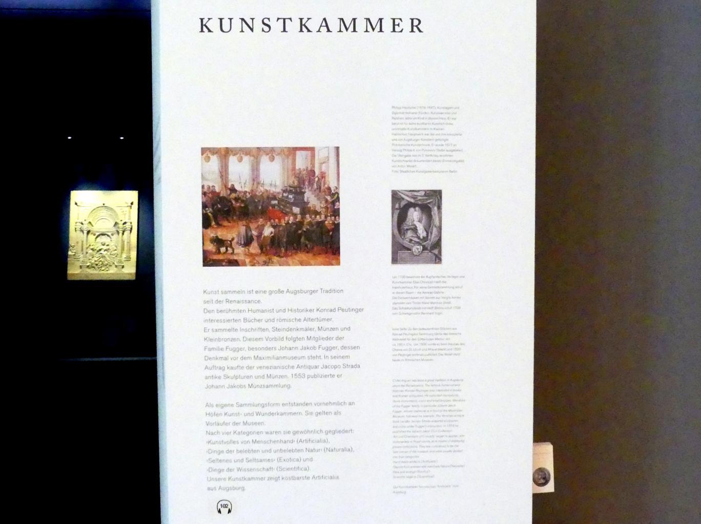 Augsburg, Maximilian Museum, Kunstkammer, Bild 2/7