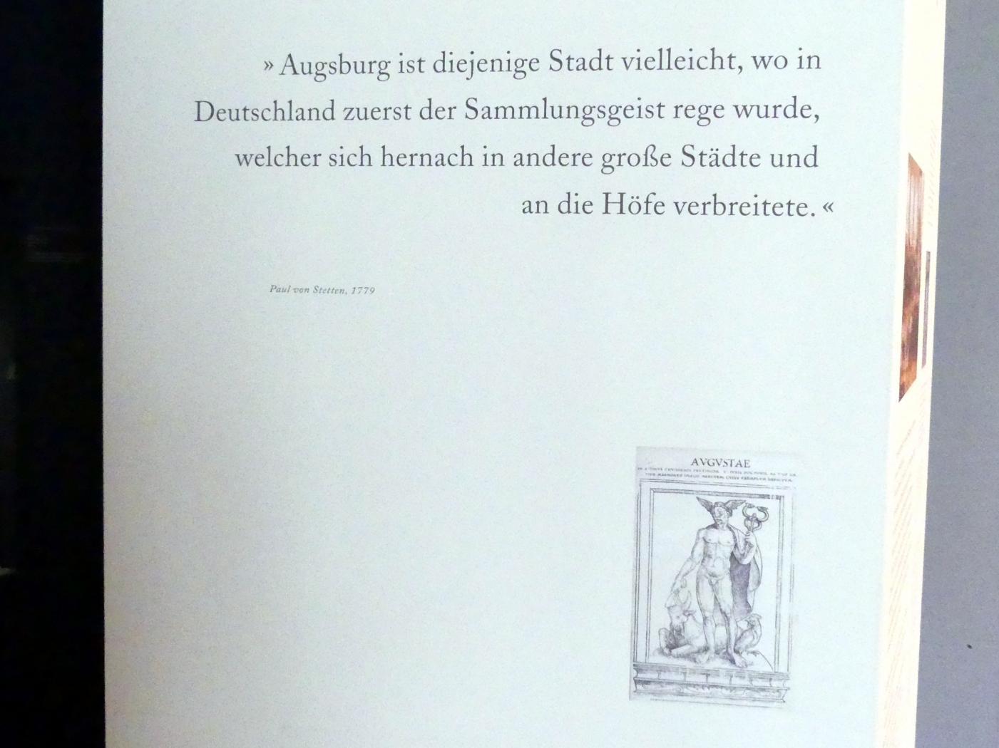 Augsburg, Maximilian Museum, Kunstkammer, Bild 3/7