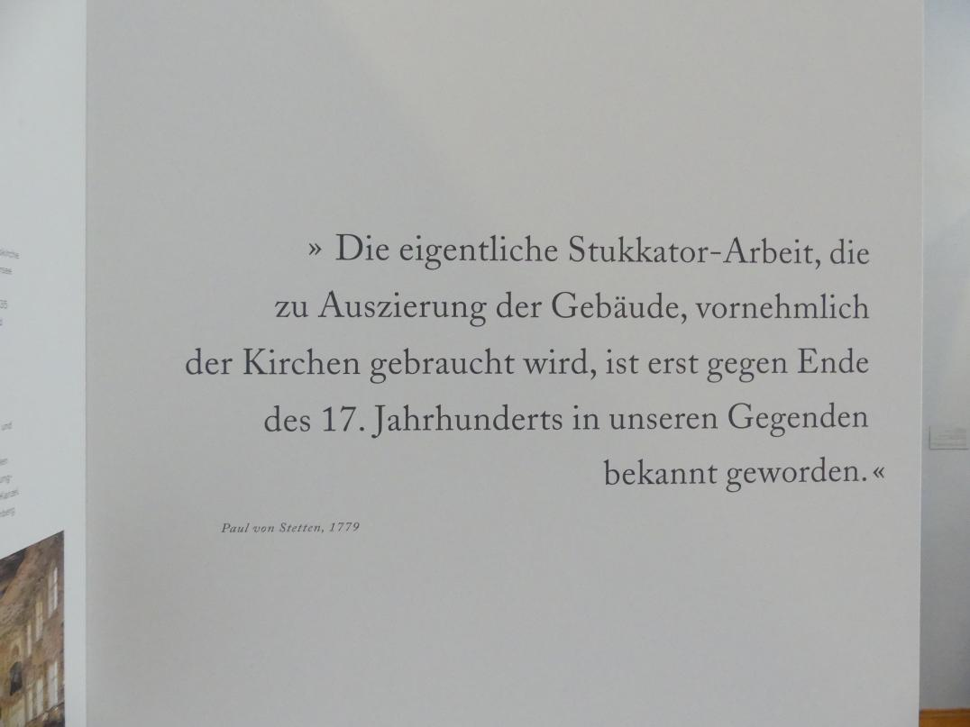 Augsburg, Maximilian Museum, Barockbildhauer in Schwaben und Augsburg, Bild 4/4