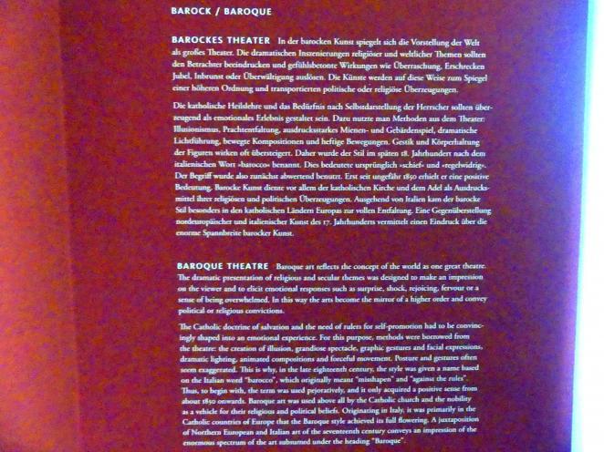 Frankfurt am Main, Liebieghaus Skulpturensammlung, Barock - barockes Theater, Bild 7/7
