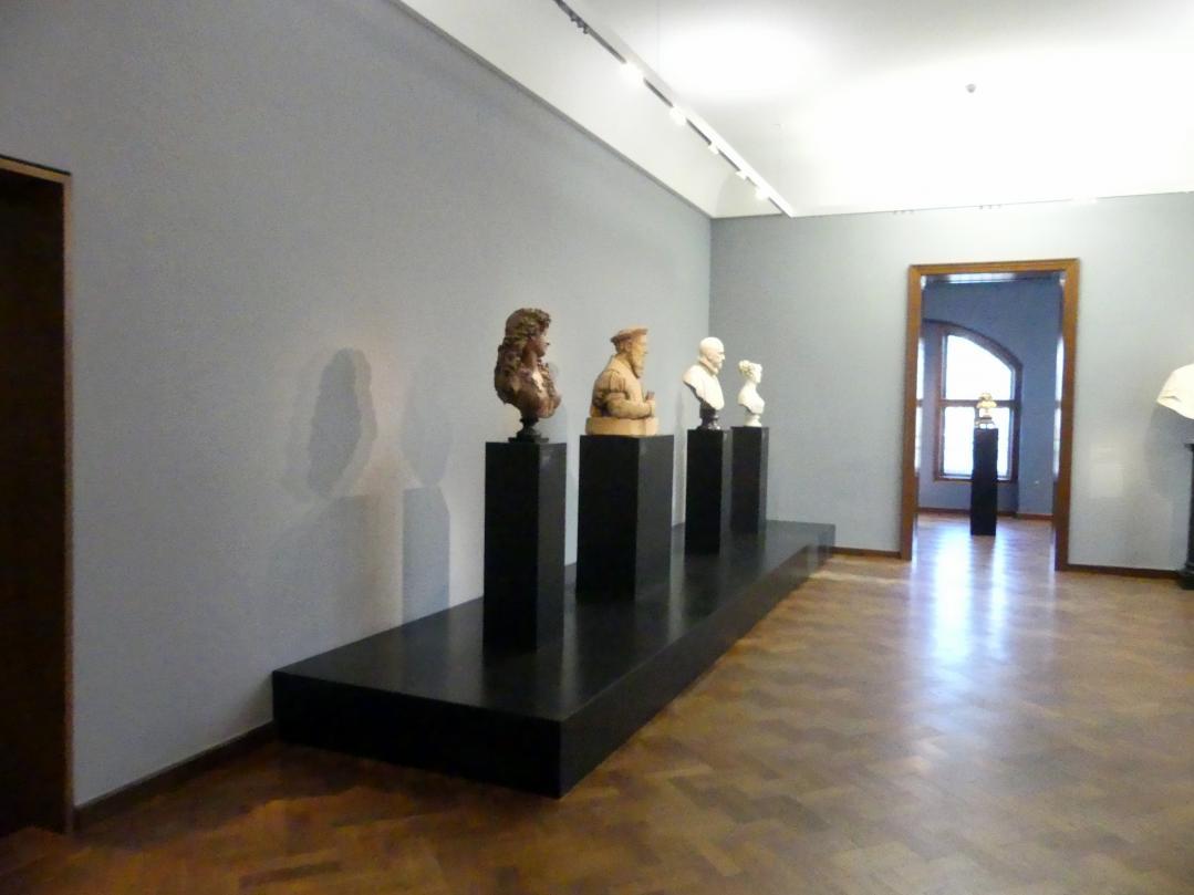 Frankfurt am Main, Liebieghaus Skulpturensammlung, Portraits vom 15.-19. Jahrhundert, Bild 1/3