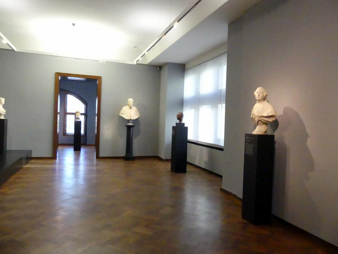 Frankfurt am Main, Liebieghaus Skulpturensammlung, Portraits vom 15.-19. Jahrhundert, Bild 2/3