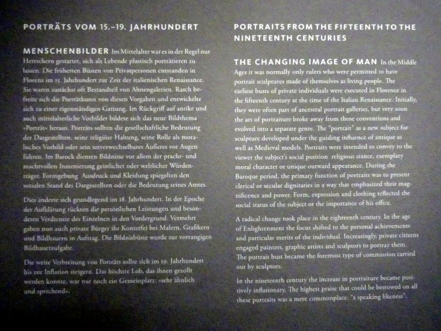 Frankfurt am Main, Liebieghaus Skulpturensammlung, Portraits vom 15.-19. Jahrhundert, Bild 3/3