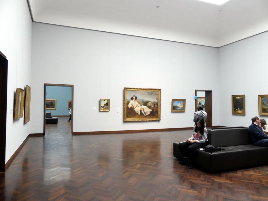 Frankfurt am Main, Städel Museum, 1. Obergeschoss, Saal 1, Bild 1/2