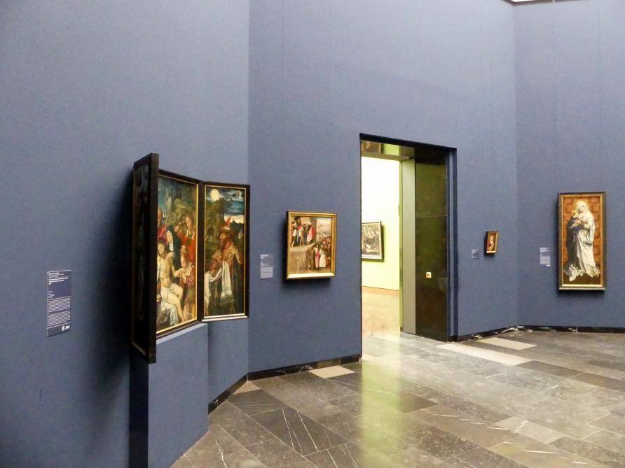 Frankfurt am Main, Städel Museum, 2. Obergeschoss, Saal 1, Bild 1/6