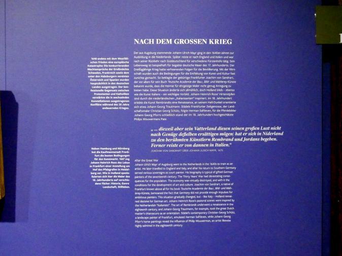 Frankfurt am Main, Städel Museum, 2. Obergeschoss, Saal 18, Bild 2/2