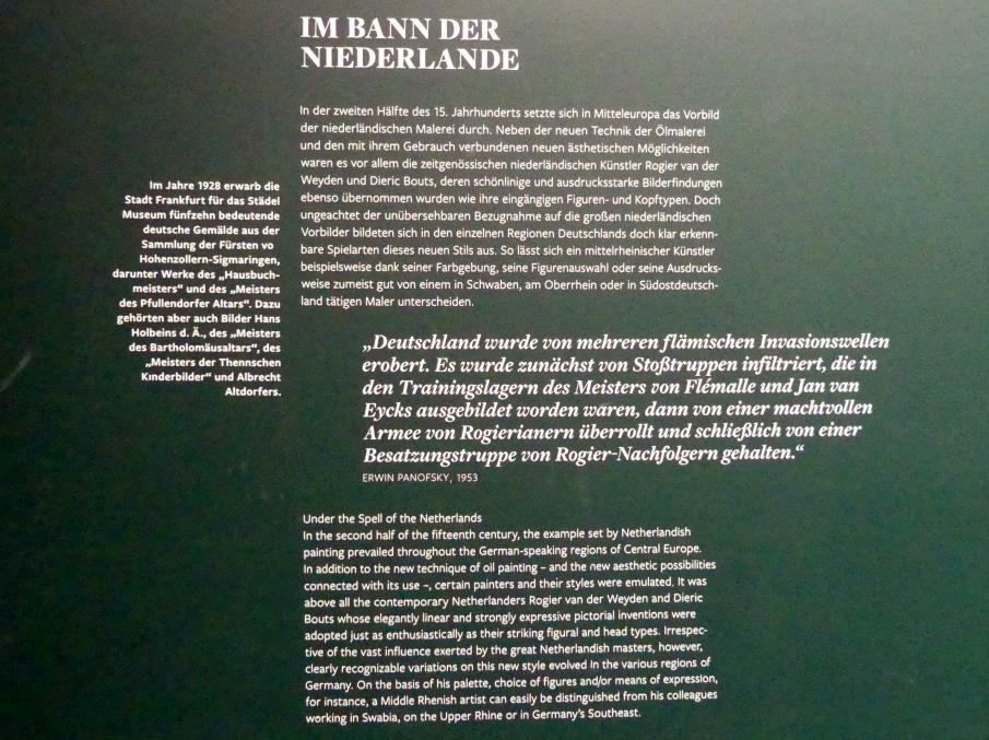 Frankfurt am Main, Städel Museum, 2. Obergeschoss, Saal 4, Bild 2/2