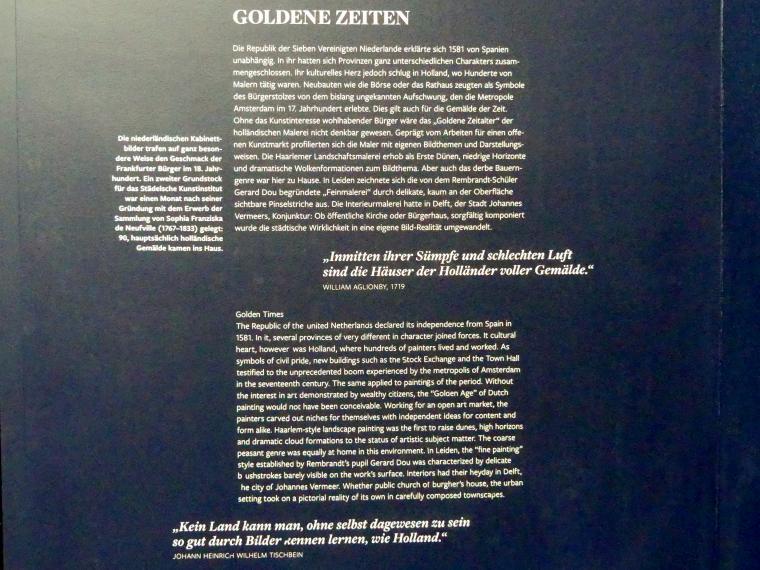 Frankfurt am Main, Städel Museum, 2. Obergeschoss, Saal 7, Bild 7/7