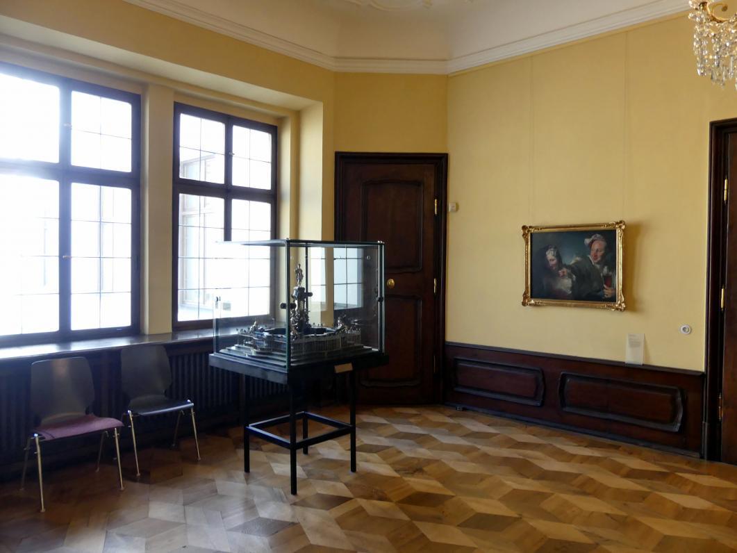 Augsburg, Städtische Kunstsammlungen, Deutsche Barockgalerie im Schaezlerpalais, Saal 10 - Geschichte des Hauses