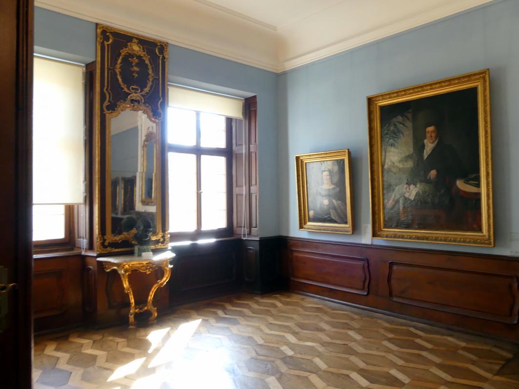 Augsburg, Städtische Kunstsammlungen, Deutsche Barockgalerie im Schaezlerpalais, Saal 11 - Die Bewohner des Schaezlerpalais