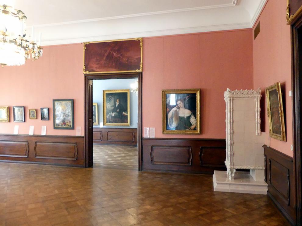 Augsburg, Deutsche Barockgalerie im Schaezlerpalais, Saal 12 - Meisterwerke des 17. und 18. Jahrhunderts, Bild 2/2