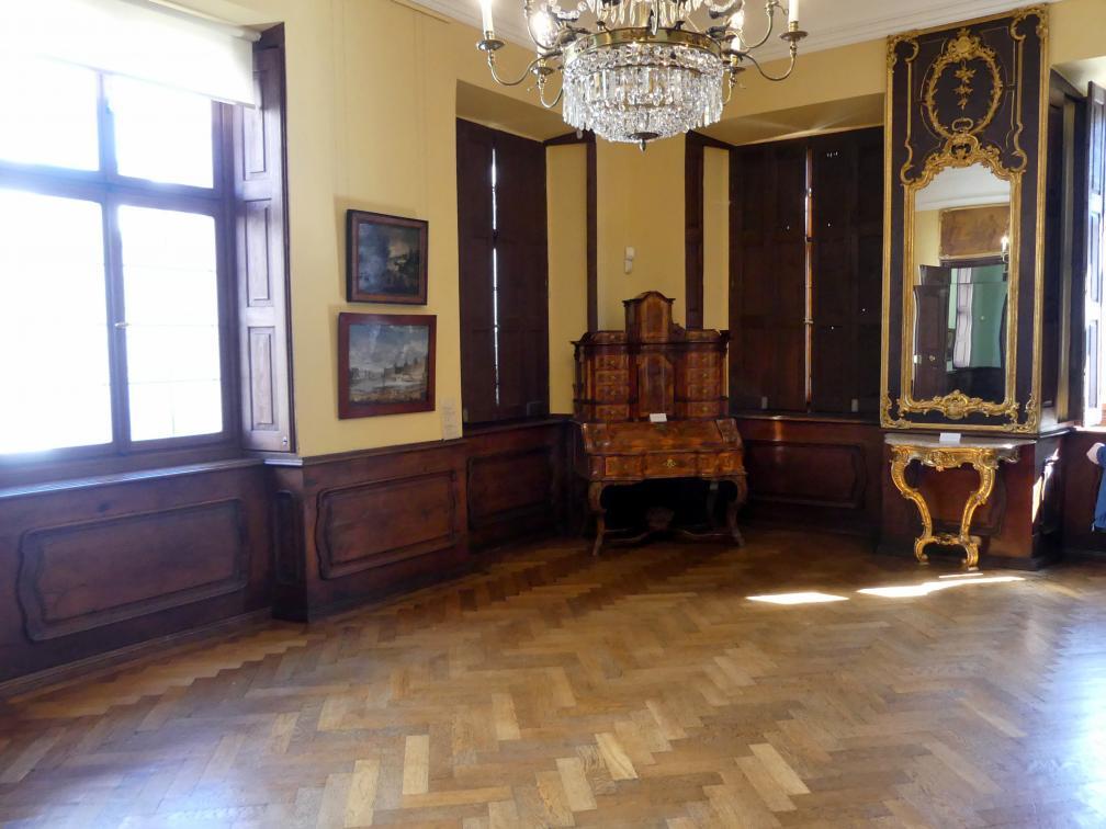 Augsburg, Städtische Kunstsammlungen, Deutsche Barockgalerie im Schaezlerpalais, Saal 13 - Genre und Tierstück, Bild 2/2