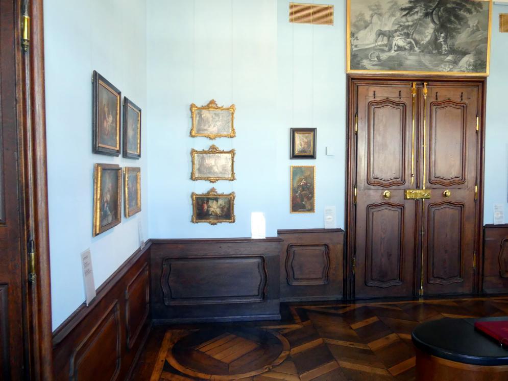 Augsburg, Städtische Kunstsammlungen, Deutsche Barockgalerie im Schaezlerpalais, Saal 17 - Augsburger Akademiemalerei