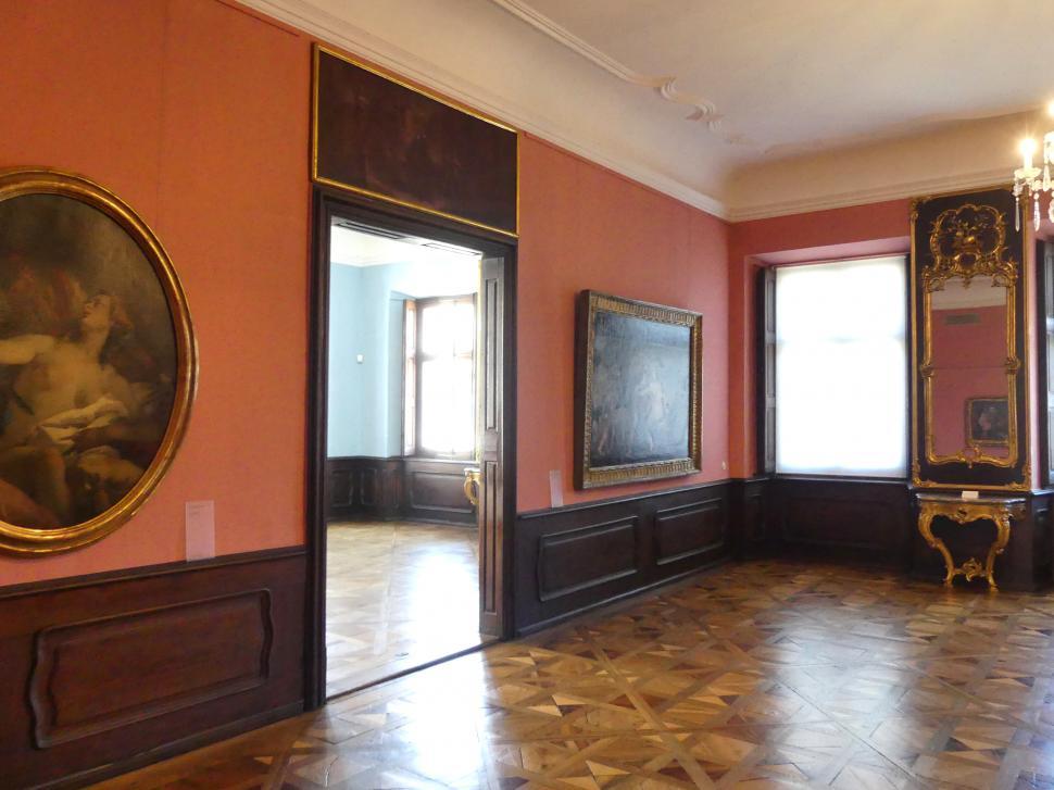 Augsburg, Deutsche Barockgalerie im Schaezlerpalais, Saal 28 - Haberstock-Stiftung: Malerie des 16. bis 20. Jahrhunderts, Bild 1/3